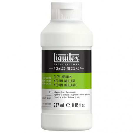 LIQUITEX 5008 MEDIUM VERNIS BRILL.237ML