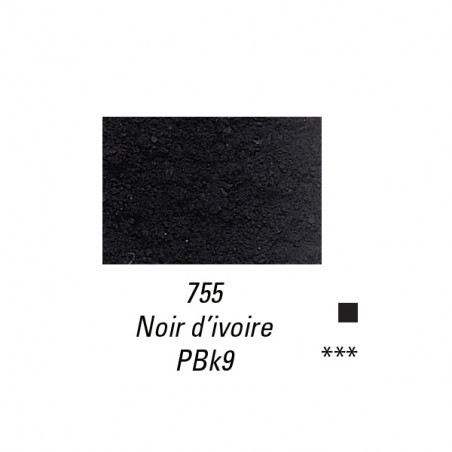SENNELIER PIGMENT 120G S1 755 NOIR IVOIRE