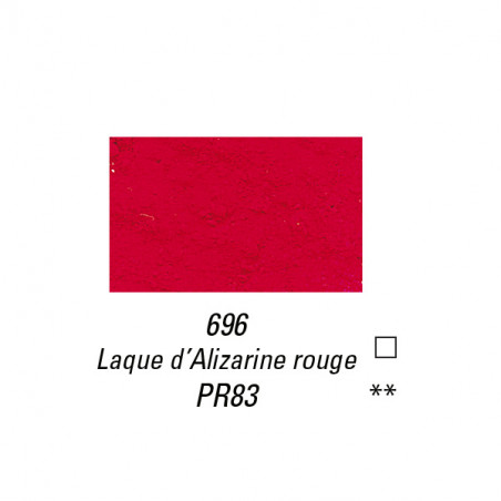 SENNELIER PIGMENT 60G S4 696 LAQUE ALIZARINE ROUGE