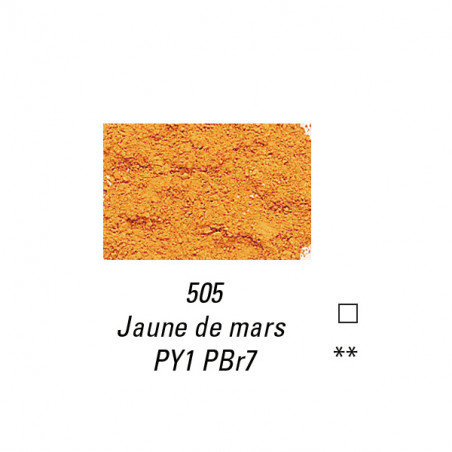 SENNELIER PIGMENT 110G S2 505 JAUNE  MARS