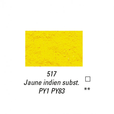 SENNELIER PIGMENT 90G S2 517 JAUNE  INDIEN SUB.