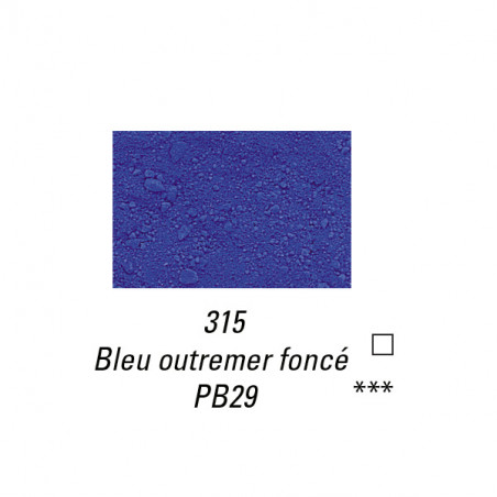 SENNELIER PIGMENT 85G S2 315 OUTREMER FONCE