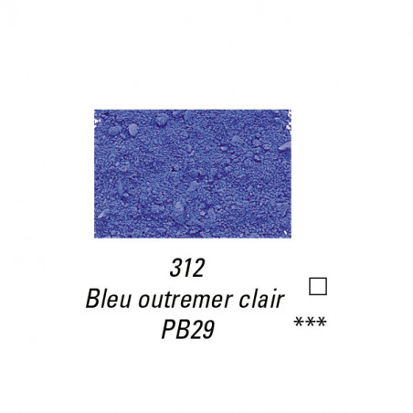 SENNELIER PIGMENT 60G S2 312 OUTREMER CLAIR