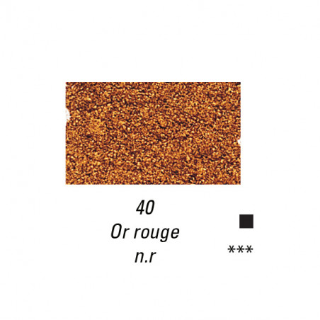 SENNELIER PIGMENT 90G S4 40 OR ROUGE
