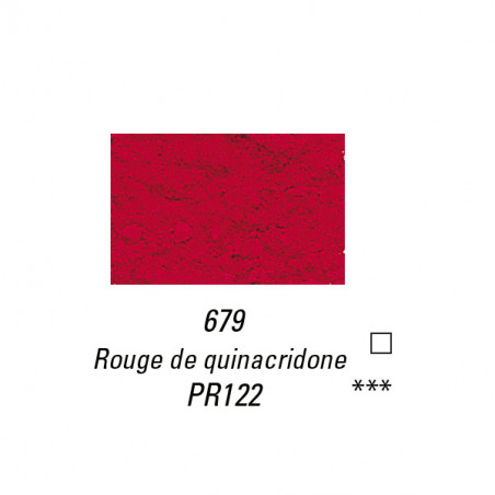 SENNELIER PIGMENT 40G S4 679 ROUGE  QUINACRIDONE
