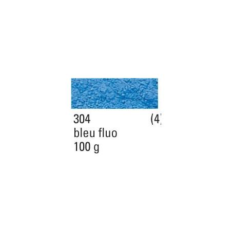 SENNELIER PIGMENT 100G S4 304 BLEU FLUO / ARRET PRODUCTION -----