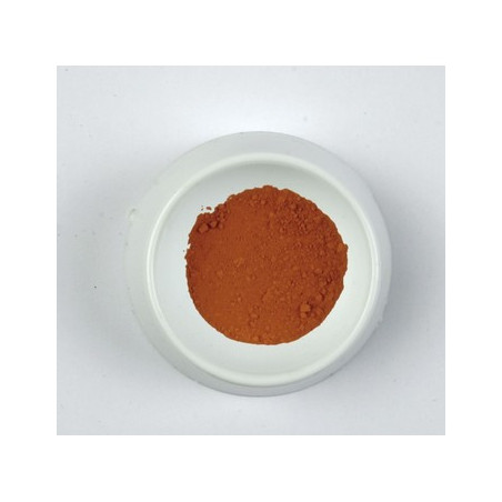 CLAVE PIGMENT 500G 0318 ROUGE  POZZUOLI/A EFFACER........