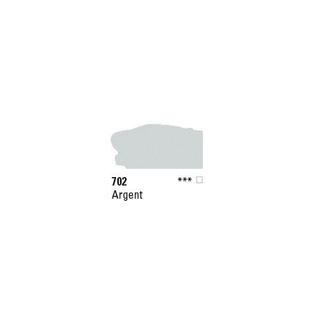 SYSTEM 3 ACRYLIQUE 500ML 702 ARGENT IMIT