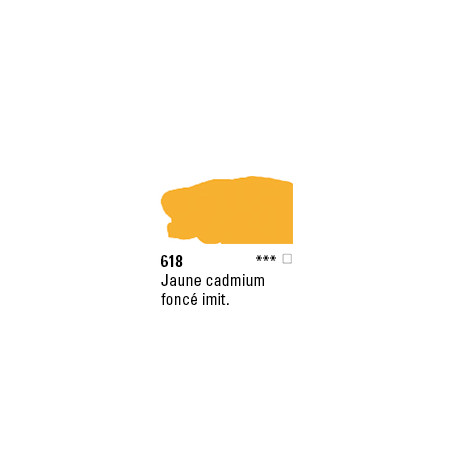 SYSTEM 3 ACRYLIQUE 500ML 618 JAUNE DE CAD FC IMIT