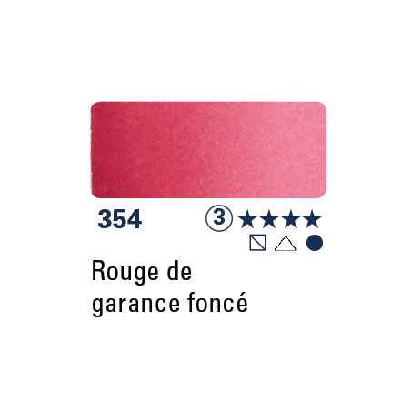 SCHMINCKE AQUARELLE HORADAM 5ML S3 354 ROUGE GARANCE FONCE