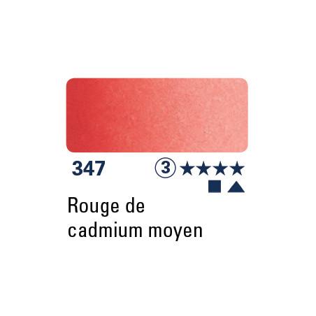 SCHMINCKE AQUARELLE HORADAM 5ML S3 347 ROUGE CAD MOYEN