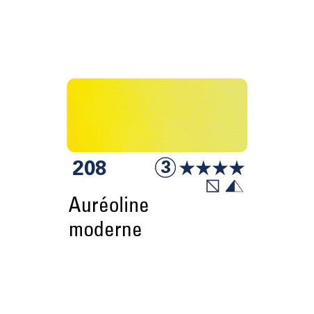 SCHMINCKE AQUARELLE HORADAM 5ML S3 208 AUREOLINE MODERNE