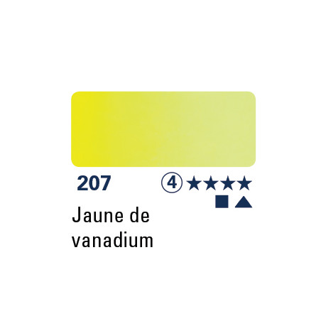 SCHMINCKE AQUARELLE HORADAM 5ML S4 207 JAUNE DE VANADIUM