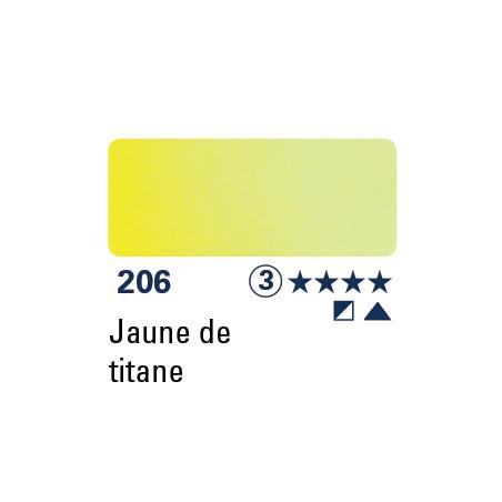 SCHMINCKE AQUARELLE HORADAM GODET S3 206 JAUNE TITANE/A EFFACER