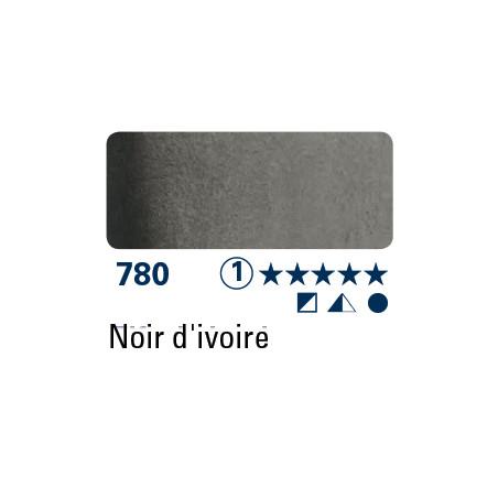 SCHMINCKE AQUARELLE HORADAM 15ML S1 780 NOIR DIVOIRE