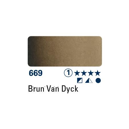 SCHMINCKE AQUARELLE HORADAM 5ML S1 669 BRUN DE VAN DYCK