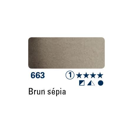 SCHMINCKE AQUARELLE HORADAM 5ML S1 663 BRUN SEPIA