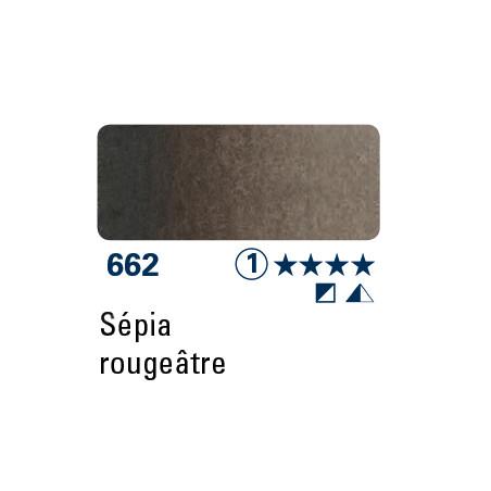 SCHMINCKE AQUARELLE HORADAM 5ML S1 662 TEINTE SEPIA