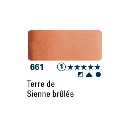 SCHMINCKE AQUARELLE HORADAM 5ML S1 661 TERRE SIENNE BRULEE