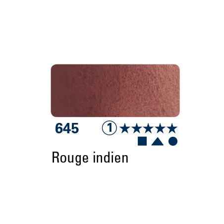 SCHMINCKE AQUARELLE HORADAM 15ML S1 645 ROUGE INDIEN