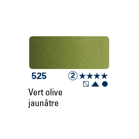 SCHMINCKE AQUARELLE HORADAM 5ML S2 525 VERT OLIVE JAUNATRE