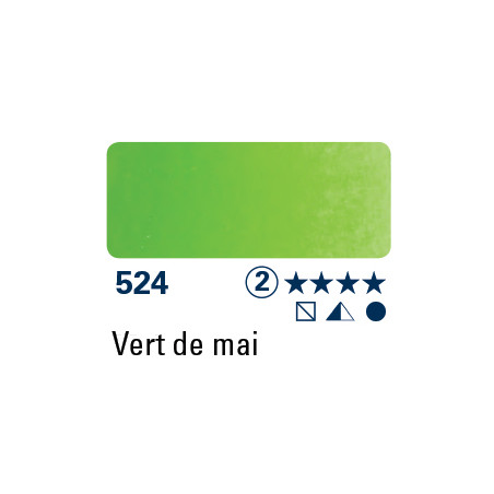 SCHMINCKE AQUARELLE HORADAM 5ML S2 524 VERT DE MAI
