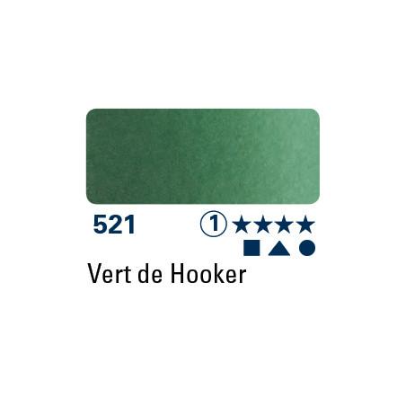 SCHMINCKE AQUARELLE HORADAM 5ML S1 521 VERT DE HOOKER