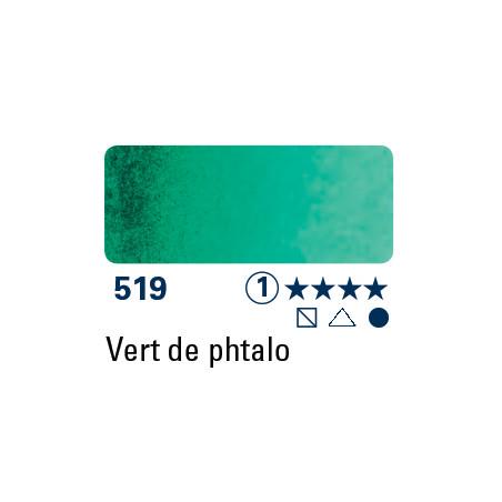 SCHMINCKE AQUARELLE HORADAM 5ML S1 519 VERT DE PHTALO