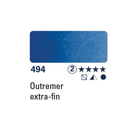 SCHMINCKE AQUARELLE HORADAM 5ML S2 494 OUTREMER EXTRA FIN