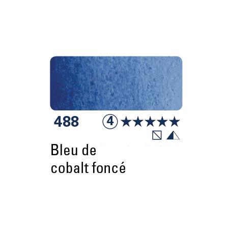 SCHMINCKE AQUARELLE HORADAM 15ML S4 488 BLEU COBALT FONCE