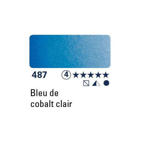 SCHMINCKE AQUARELLE HORADAM 5ML S4 487 BLEU COBALT CLAIR