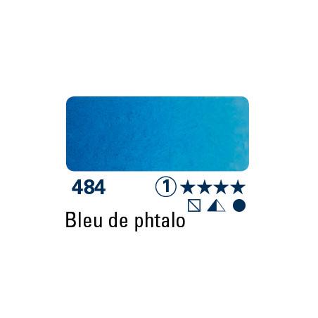 SCHMINCKE AQUARELLE HORADAM 15ML S1 484 BLEU PHTALO