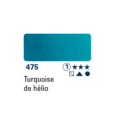 SCHMINCKE AQUARELLE HORADAM 15ML S1 475 TURQUOISE HELIO