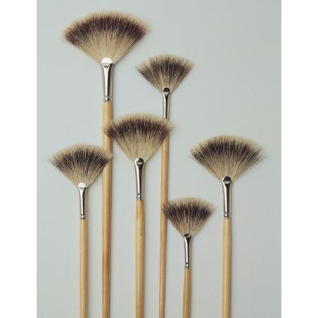 Morani série 180 pinceau en éventail blaireau