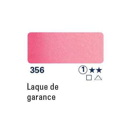 SCHMINCKE AQUARELLE HORADAM 15ML S1 356 LAQUE GARANCE ROSE