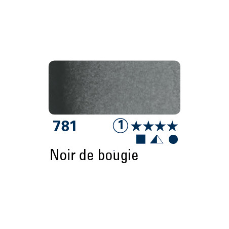 SCHMINCKE AQUARELLE HORADAM 15ML S1 781 NOIR DE BOUGIE