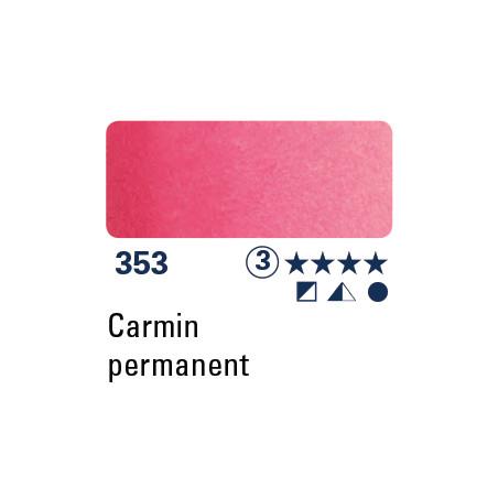 SCHMINCKE AQUARELLE HORADAM 5ML S3 353 PERMANENT CARMIN