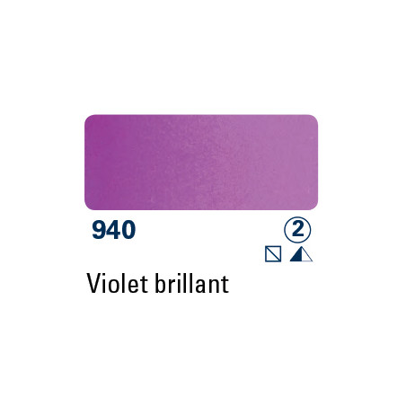 SCHMINCKE AQUARELLE HORADAM 15ML S2 940 ROUGE VIOLET BRILLANT
