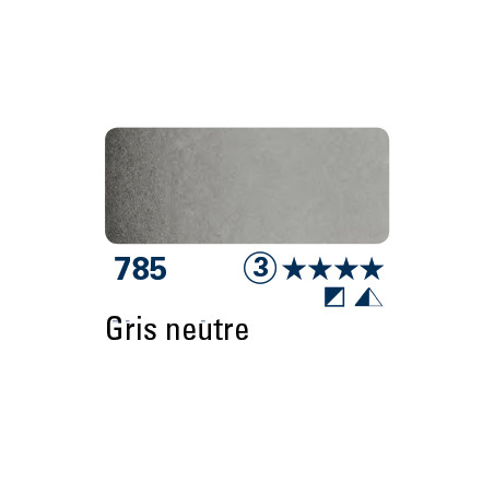 SCHMINCKE AQUARELLE HORADAM 15ML S3 785 GRIS NEUTRE