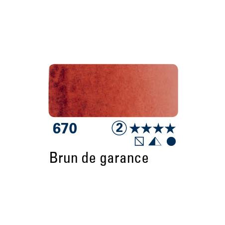 SCHMINCKE AQUARELLE HORADAM 5ML S2 670 BRUN DE GARANCE