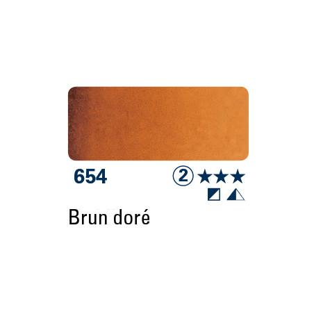 SCHMINCKE AQUARELLE HORADAM 5ML S2 654 BRUN DOCRE