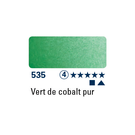SCHMINCKE AQUARELLE HORADAM 15ML S4 VERT DE COBALT PUR