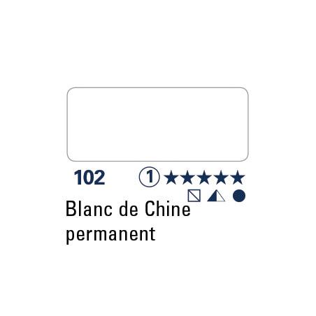 SCHMINCKE AQUARELLE HORADAM 5ML S1 102 BLANC DE CHINE PERM
