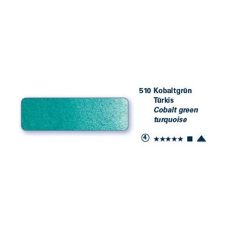 SCHMINCKE AQUARELLE HORADAM GODET S4 510 TURQ COBALT VERT /A EFFACER