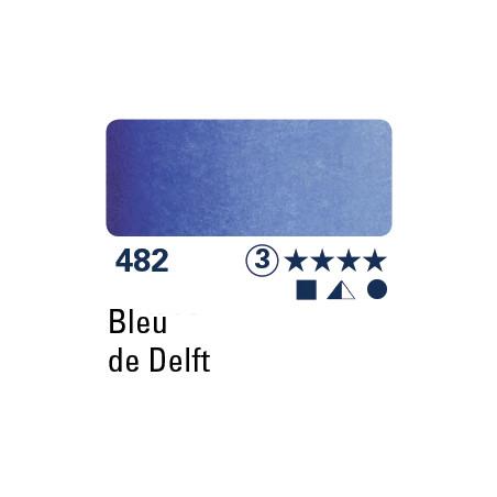 SCHMINCKE AQUARELLE HORADAM 5ML S3 482 BLEU DE DELFT