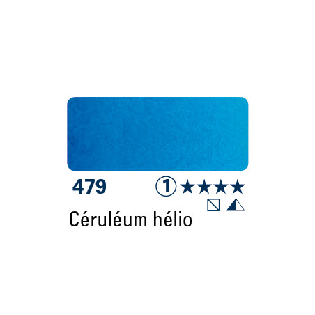 SCHMINCKE AQUARELLE HORADAM 15ML S1 479 CERULEUM HELIO
