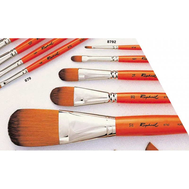 RAPHAEL 8792 PINCEAU KAERELL ORANGE USE B 18