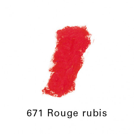 SEN PASTEL ECU PETIT 671 ROUGE RUBIS