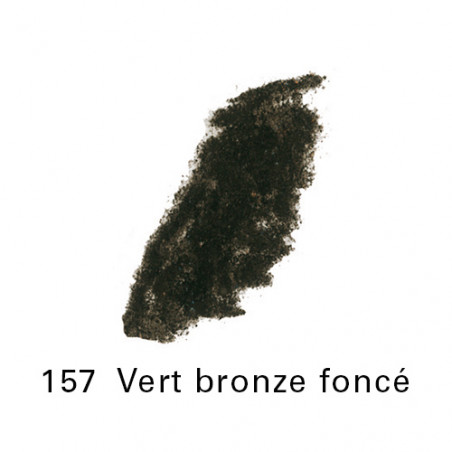 SEN PASTEL ECU PETIT 157 VERT BRONZE FONCE