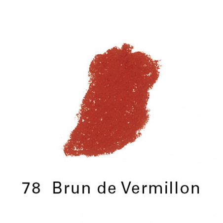 SEN PASTEL ECU PETIT 78 BRUN DE VERMILLON